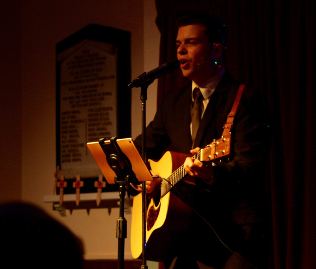 Michael Glaysher performs Elvis Gospel at the Chapel